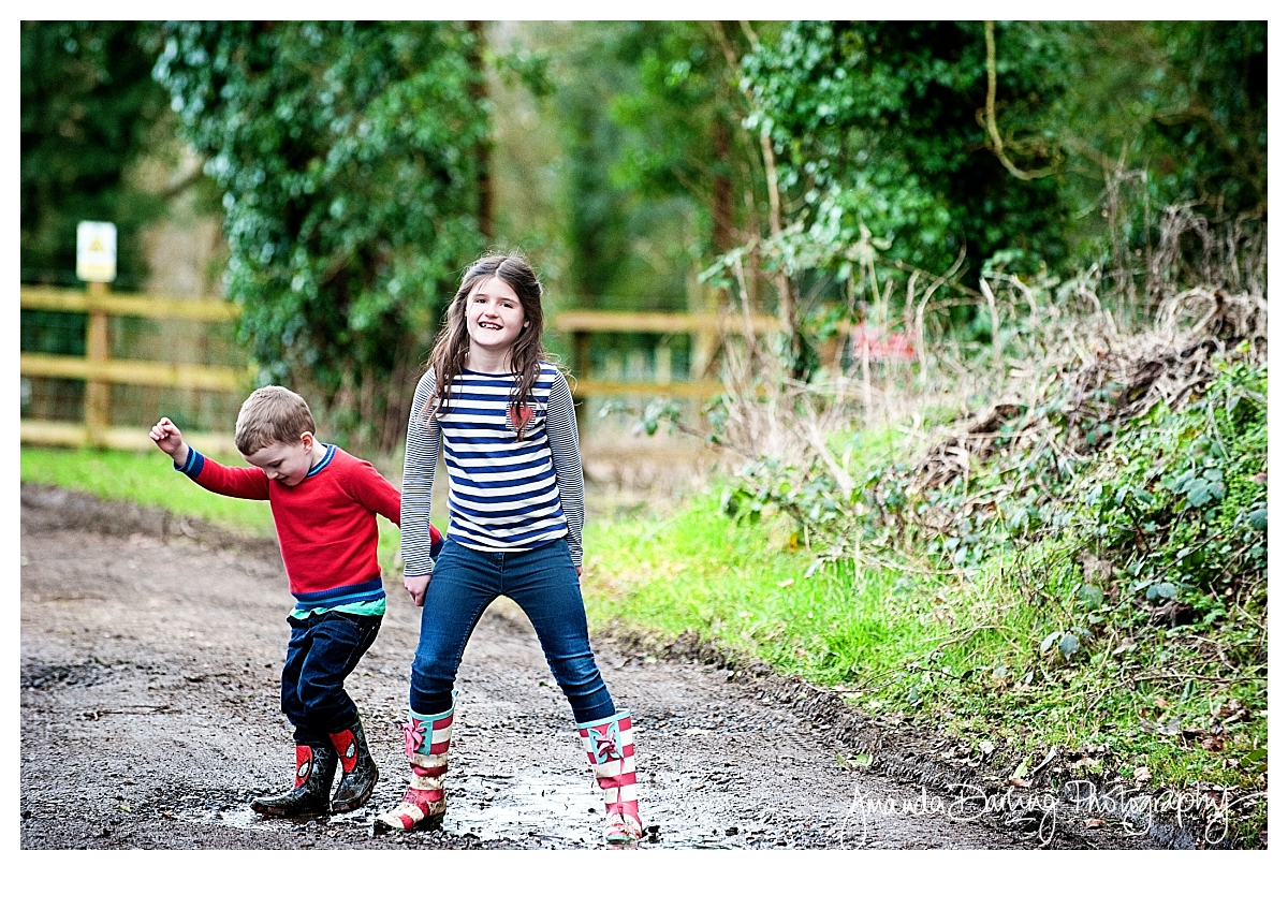 Muddy-puddle-childrens-photograper-surrey