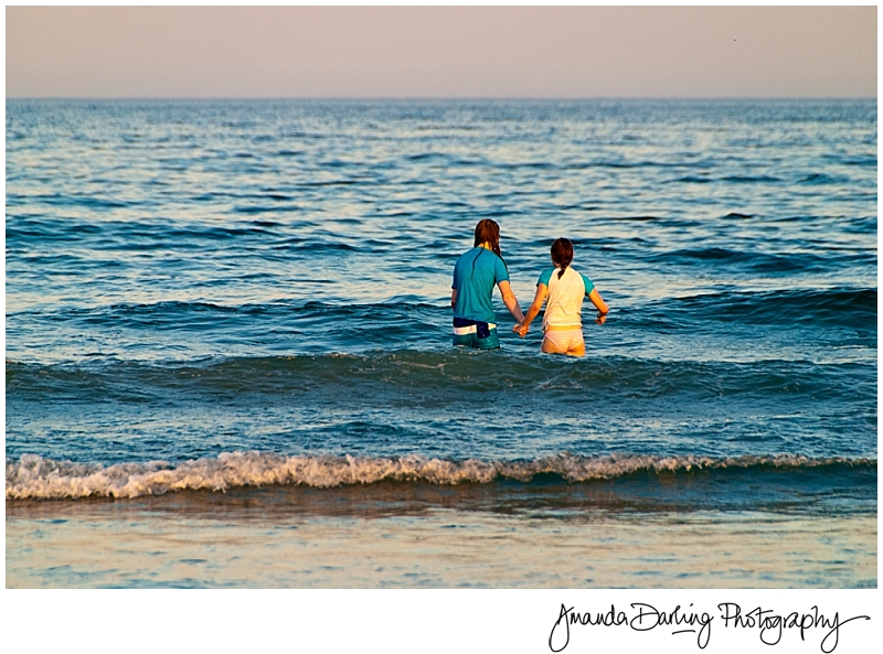 Amanda Darling Photography Teenagers sunset photograph