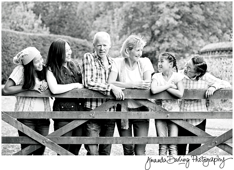 Family of 6 Photograph Kingswood Surrey