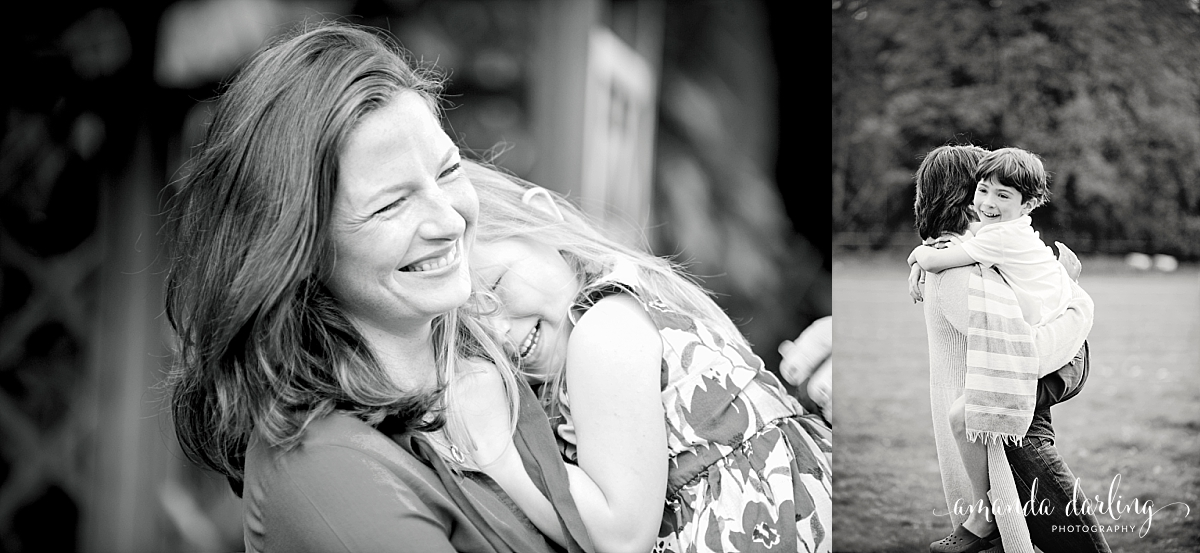 mum and child cuddle in photographs emotional and natural surrey photoshoot