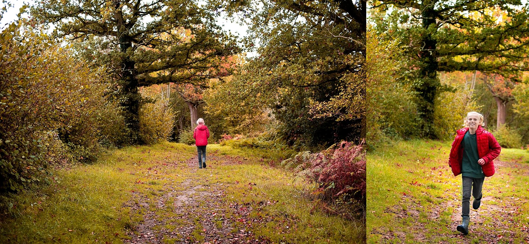 photo of Autumn childrens photo shoot Amanda Darling Photography